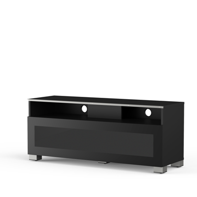 Meliconi MyTVStand 12040H GLASS BLACK tv állvány