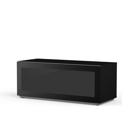 Meliconi MyTVStand 12050F GLASS BLACK tv állvány