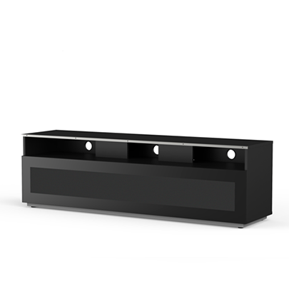 Meliconi MyTVStand 16040H GLASS BLACK tv állvány