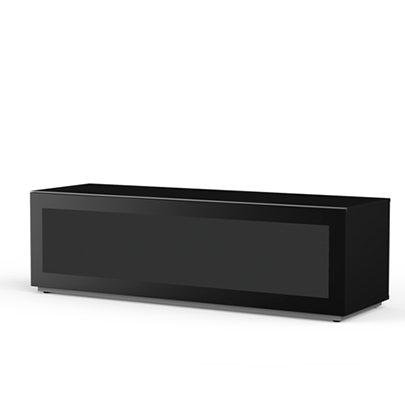 Meliconi MyTVStand 16050F GLASS BLACK tv állvány